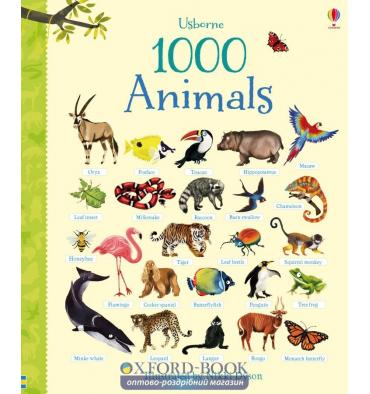 Книга 1000 Animals Greenwell, J ISBN 9781409551645