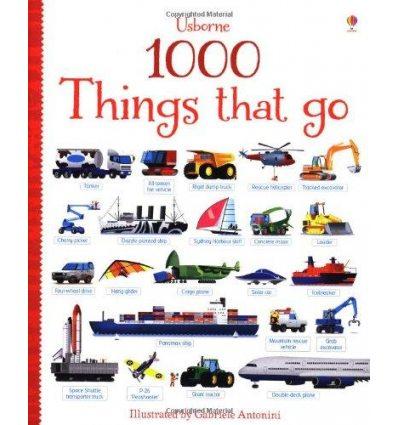 Книга 1000 Things That Go Taplin, S ISBN 9781409551843