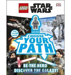 LEGO Star Wars Choose Your Path: With Minifigure [Hardcover] 9780241313824 купить Киев Украина