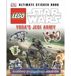 LEGO Star Wars: Yodas Jedi Army Ultimate Sticker Book 9781409353645 купить Киев Украина