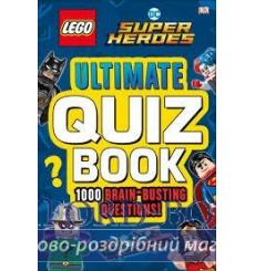 LEGO DC Comics Super Heroes Ultimate Quiz Book 9780241301432 купить Киев Украина