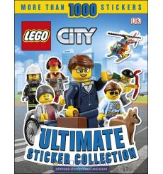 Lego City: Ultimate Sticker Collection [Paperback] 9780241301425 купить Киев Украина