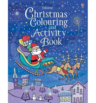 Рабочая тетрадь Christmas Colouring and Activity Book (new.ed.) ISBN 9781474956611