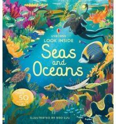 Книга Look Inside Seas and Oceans ISBN 9781474947060