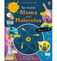 Книга See Inside Atoms and Molecules Dickins, R 9781474943642 купить Киев Украина
