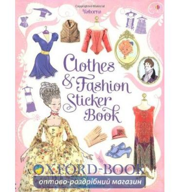 Книга Clothes and Fashion Sticker Book ISBN 9781409523321
