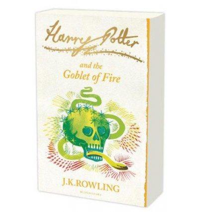 Книга Harry Potter 4 Goblet of Fire [Paperback] ISBN 9781408812808