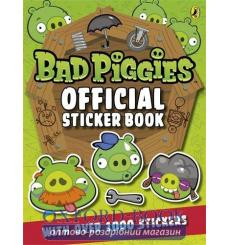 Книга Bad Piggies Official Sticker Book ISBN 9780141352121 купить Киев Украина