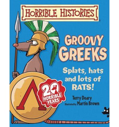 Книга Groovy Greeks Deary, T ISBN 9781407135823
