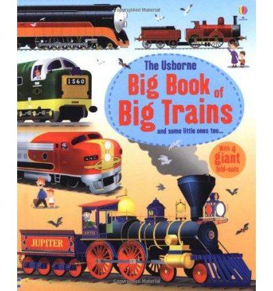 Книга Big Book of Big Trains ISBN 9781409549895