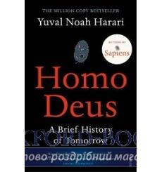 Книга Homo Deus: A Brief History of Tomorrow Harari, Y 9781784703936 купить Киев Украина