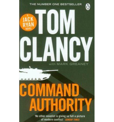 Книга Command Authority: A Jack Ryan Novel ISBN 9780718179212