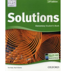 Учебник Solutions 2nd Edition Elementary Students Book Falla, T ISBN 9780194552783