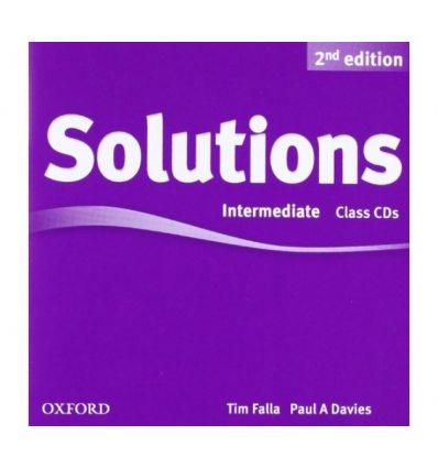 Диск Solutions 2nd Edition Intermediate Class Audio CDs (3) Falla, T ISBN 9780194554251