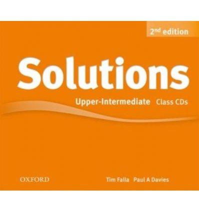 Диск Solutions 2nd Edition Upper-Intermediate Class Audio CD (4) ISBN 9780194554268