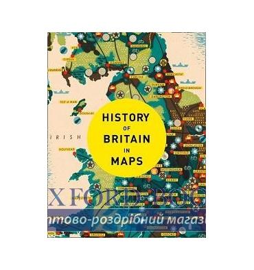 Книжка History of Britain in Maps [Hardcover] Parker, Ph ISBN 9780008258344