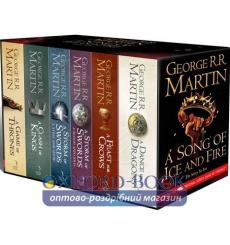 Книга A Song of Ice and Fire Boxed Set (1-6) [Paperback] ISBN 9780007477166 купить Киев Украина