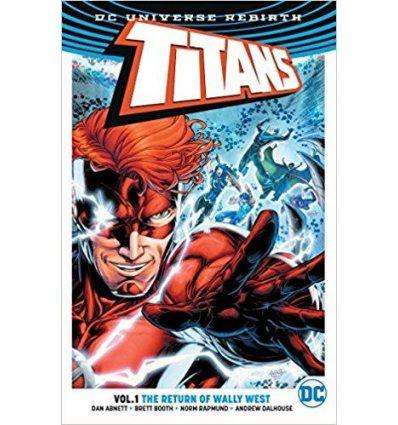 Книга Titans: The Return of Wally West (Rebirth) Vol 1 Dan Arbeitsbuch nett ISBN 9781401268176