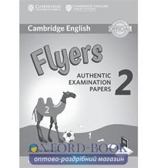 Книга Cambridge English YLE Flyers 2 for Revised Exam 2018 Answer Booklet ISBN 9781316636282 купить Киев Украина