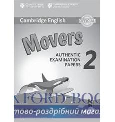 Книга Cambridge English YLE Movers 2 for Revised Exam 2018 Answer Booklet ISBN 9781316636275 купить Киев Украина