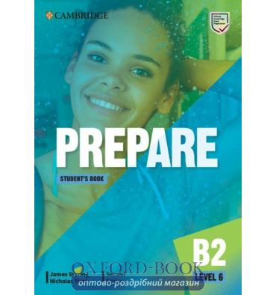 Підручник Cambridge English Prepare! Second Edition 6 Students Book James Styring, Nicholas Tims ISBN 9781108433327