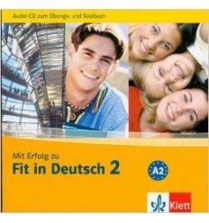Книга Mit Erfolg zu Fit in Deutsch 2 Ubungsbuch und Testbuch A2 mit Audio-CD ISBN 9786177074877