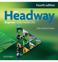 Диски для класса New Headway Beginner: Class Audio CDs (2) ISBN 9780194771252