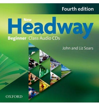 Диски для класса New Headway Beginner: Class Audio CDs (2) ISBN 9780194771252