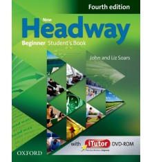 New headway beginner students book with iTutor DVD