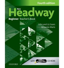 Книга для учителя New Headway 4ed. Beginner Teachers Book and Teachers Resource Disc Pack ISBN 9780194771115