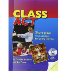 Книга Class Act: Short Plays with Activities for Young Learners with CD Watkins, P. ISBN 9781905085958