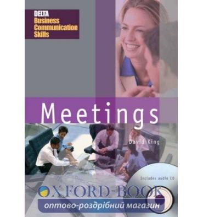 Книга Delta Business Communication Skills: Meetings Book with Audio CD King, D. 9781905085187
