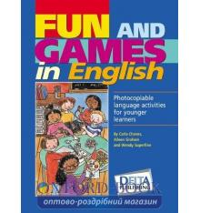Книга Fun and Games In English Book and Pack CD 9781900783347