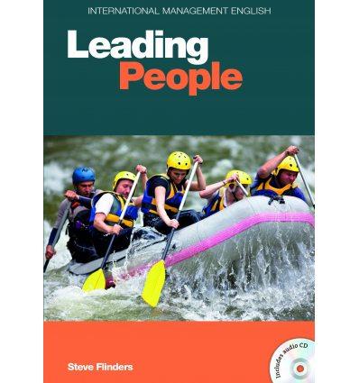 Книга Leading People Book with Audio CD (1) Flinders, S. 9781905085675