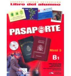 Книжка Pasaporte 3 (B1) Libro del alumno + CD audio GRATUITA Cerrolaza, M. ISBN 2000062952017