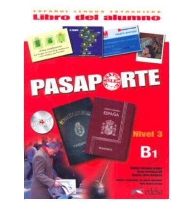 Книга Pasaporte 3 (B1) Libro del alumno + CD audio GRATUITA Cerrolaza, M. ISBN 2000062952017