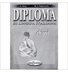 Книжка Diploma di lingua italiana Chiavi (B2) ISBN 9789607706454