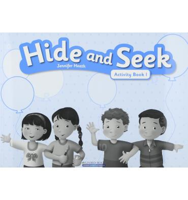 Книга Hide and Seek 1 Activity Book with Audio CD Heath, J. ISBN 9781408062685