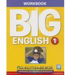 Тетрадь American English: Big English 1 workbook+CD 9780133044898 купить Киев Украина