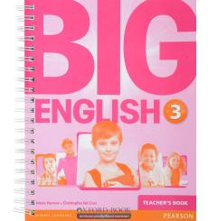 Книга для учителя Big English 3 Teachers book ISBN 9781447950738 купить Киев Украина