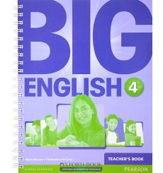 Книга для учителя Big English 4 Teachers book ISBN 9781447950820 купить Киев Украина
