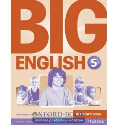 Книга для учителя Big English 5 Teachers book ISBN 9781447950905 купить Киев Украина