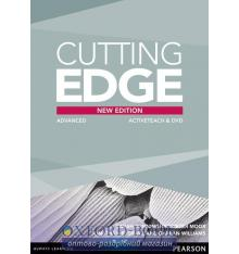 Книга Cutting Edge 3rd ed Advanced ActiveTeach CD ISBN 9781447906216