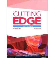 Тетрадь Cutting Edge Elementary workbook -key 9781447906407 купить Киев Украина