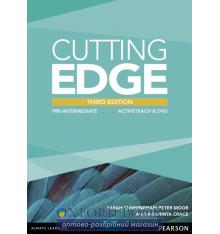 Книга Cutting Edge 3rd ed Pre-Intermediate ActiveTeach CD ISBN 9781447906544