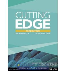 Книга Cutting Edge 3rd ed Pre-Intermediate ActiveTeach CD ISBN 9781447906544 купить Киев Украина