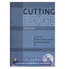 Книга для учителя Cutting Edge Advanced Teachers book +CD ISBN 9781405843645 купить Киев Украина