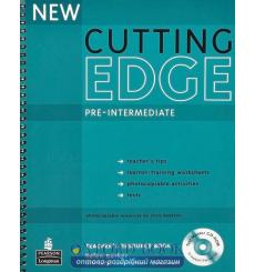 Книга для учителя Cutting Edge Pre-Interm New Teachers book+CD Pack ISBN 9781405843492 купить Киев Украина