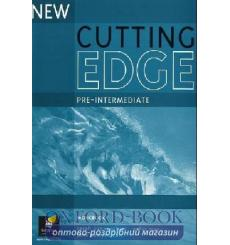 Тетрадь Cutting Edge Pre-Interm New workbook-key 9780582825123 купить Киев Украина