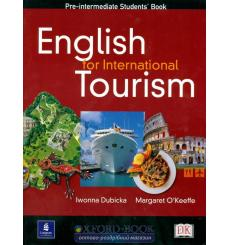 Учебник English for International Tourism Pre-Interm Student Book 9780582479883 купить Киев Украина